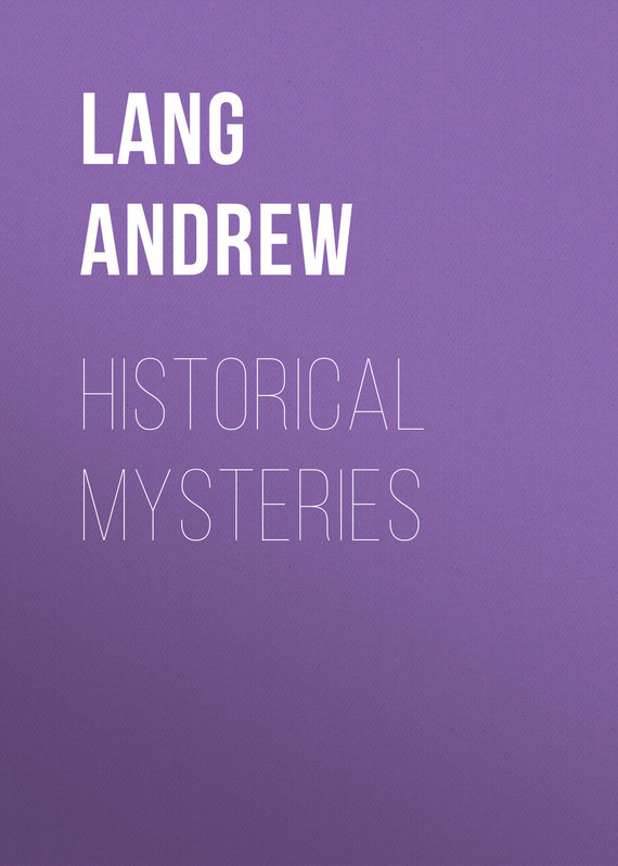 Lang Andrew Historical Mysteries