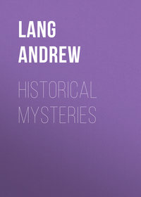 Lang Andrew - Historical Mysteries