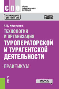 Александр Косолапов - Технология и организация туроператорской и турагентской деятельности. Практикум