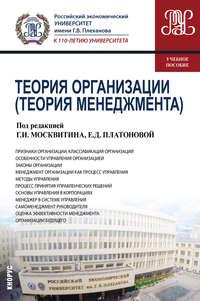Коллектив авторов - Теория организации (Теория менеджмента)