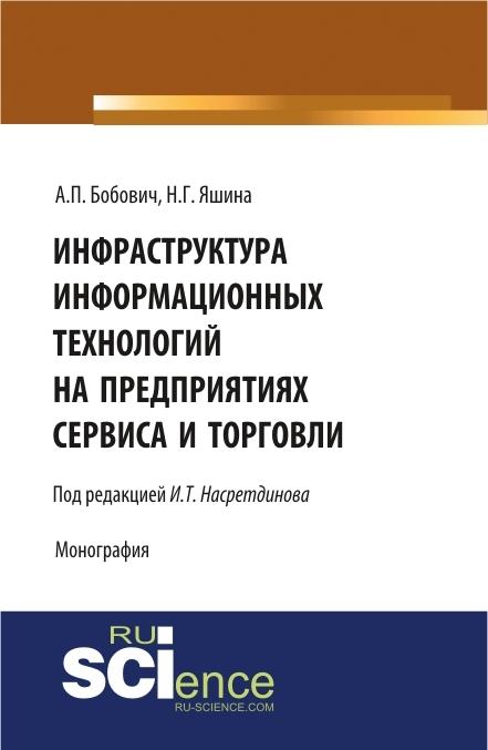А. П. Бобович Инфраструктура информационных технологий на предприятиях сервиса и торговли связь на промышленных предприятиях