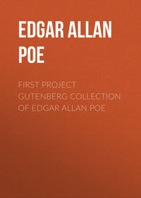- First Project Gutenberg Collection of Edgar Allan Poe