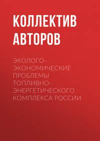 Коллектив авторов - Эколого-экономические проблемы топливно-энергетического комплекса России