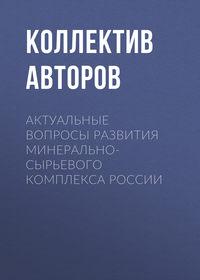 Коллектив авторов - Актуальные вопросы развития минерально-сырьевого комплекса России