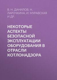 В. Н. Данилов - Некоторые аспекты безопасной эксплуатации оборудования в отрасли котлонадзора