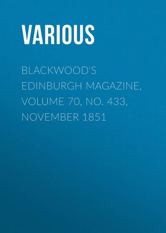 Various Blackwood's Edinburgh Magazine, Volume 70, No. 433, November 1851 calendar november 2015