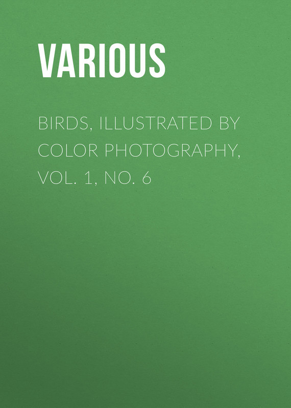 Birds, Illustrated by Color Photography, Vol. 1, No. 6