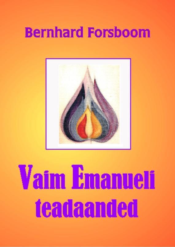 Bernhard Forsboom Vaim Emanueli teadaanded