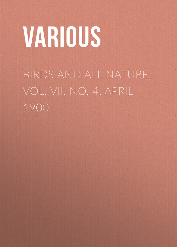 Birds and all Nature, Vol. VII, No. 4, April 1900