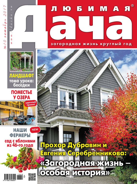 Отсутствует Любимая дача №10/2017 дача и сад