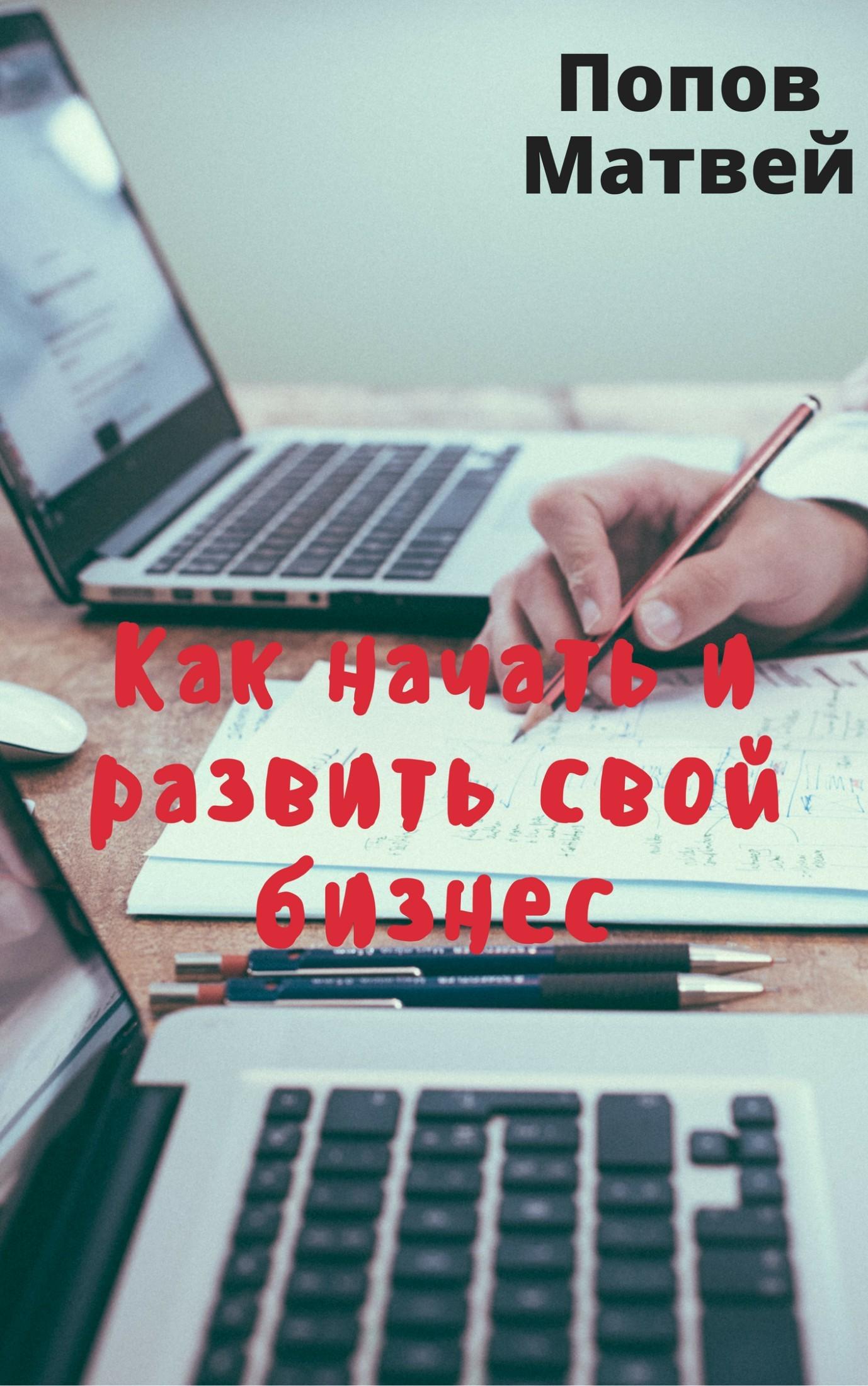 Матвей Алексеевич Попов Как начать и развить свой бизнес как спасти свой бизнес руководство к действию для мелких и средних предпринимателей