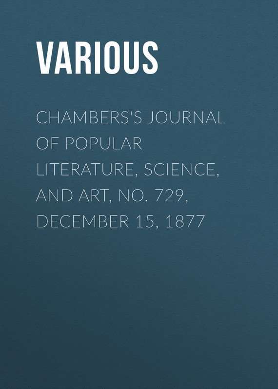 Various Chambers's Journal of Popular Literature, Science, and Art, No. 729, December 15, 1877 fundamentals of forensic science