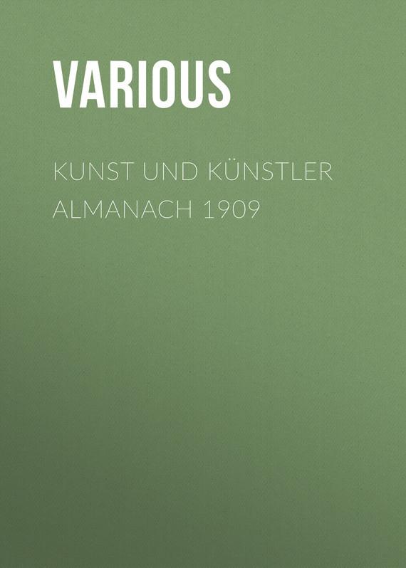 Kunst und K?nstler Almanach 1909