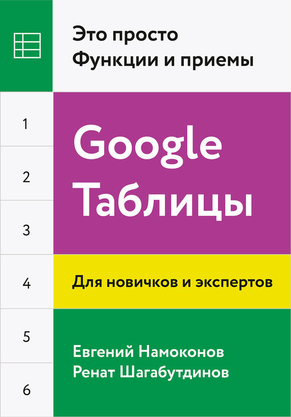 Евгений Намоконов, Ренат Шагабутдинов - Google Таблицы. Это просто. Функции и приемы