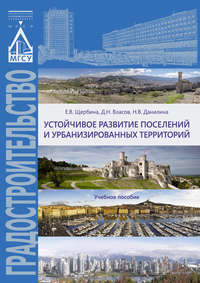 Е. В. Щербина - Устойчивое развитие поселений и урбанизированных территорий