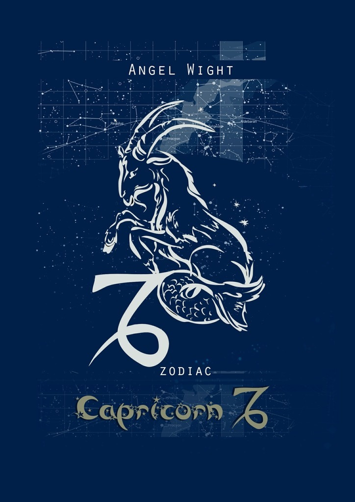 Angel Wight Capricorn. Zodiac russian phrase book