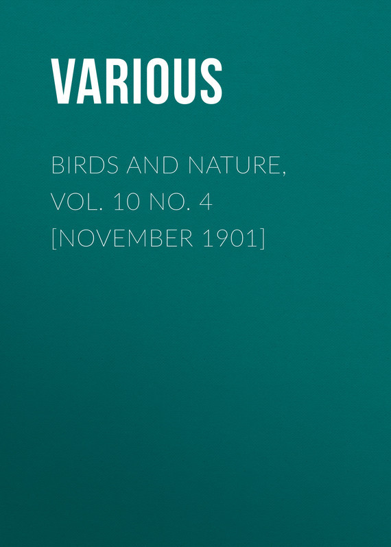 Birds and Nature, Vol. 10 No. 4 [November 1901]