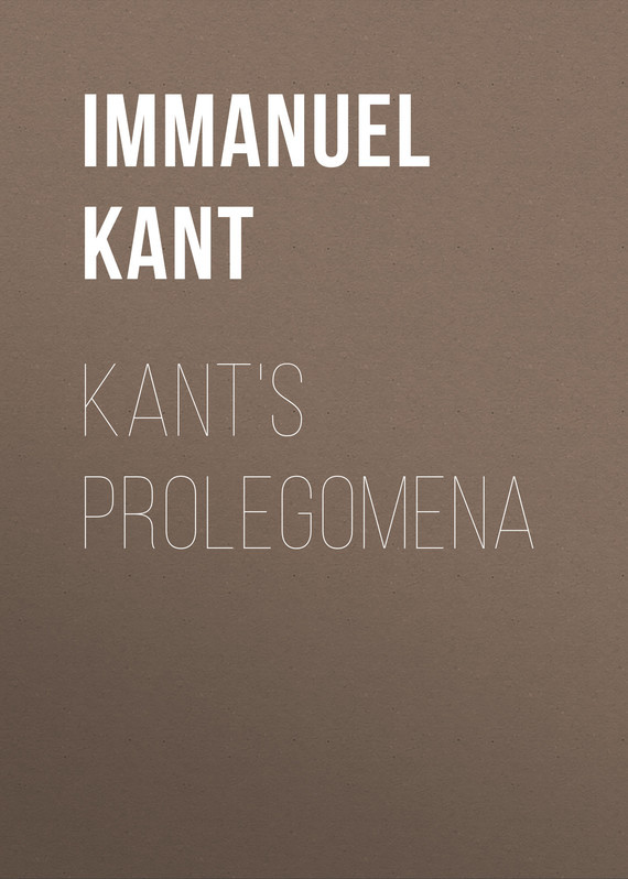 Immanuel Kant Kant's Prolegomena kant s empirical psychology