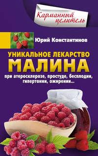 Юрий Константинов - Уникальное лекарство малина. При атеросклерозе, простуде, бесплодии, гипертонии, ожирении