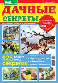 - Дачные секреты №12/2017