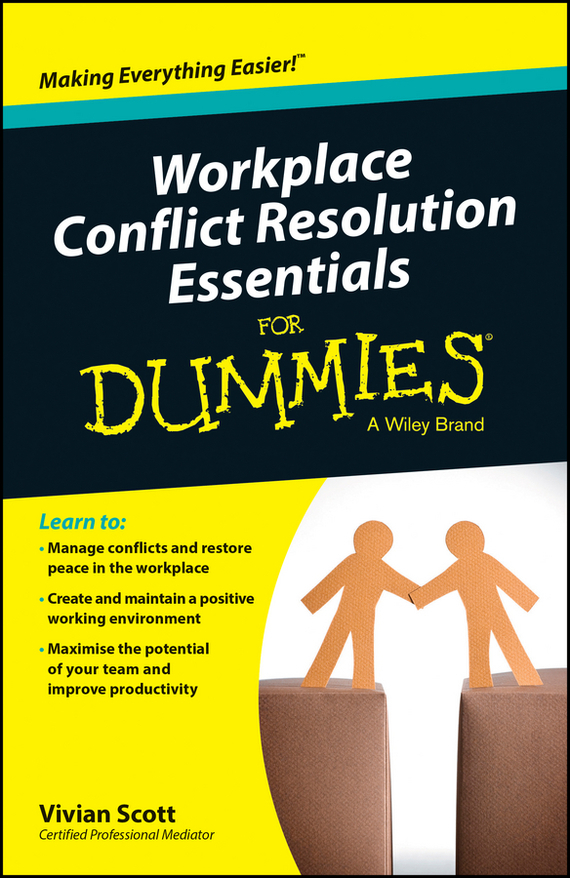 Vivian Scott Workplace Conflict Resolution Essentials For Dummies filicide a conflict resolution perspective
