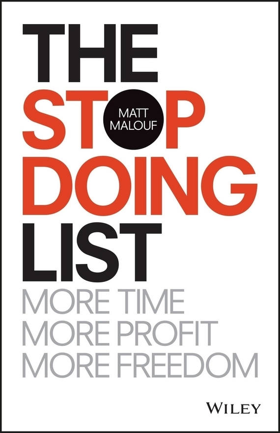 Matt Malouf The Stop Doing List the salmon who dared to leap higher