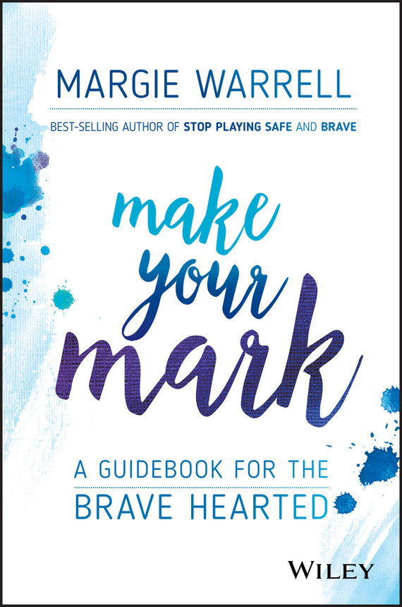 Margie Warrell Make Your Mark about you кардиган