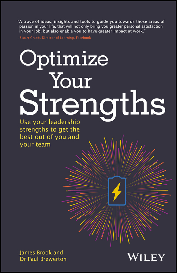 James Brook Optimize Your Strengths we got it from here… thank you 4 your service cd