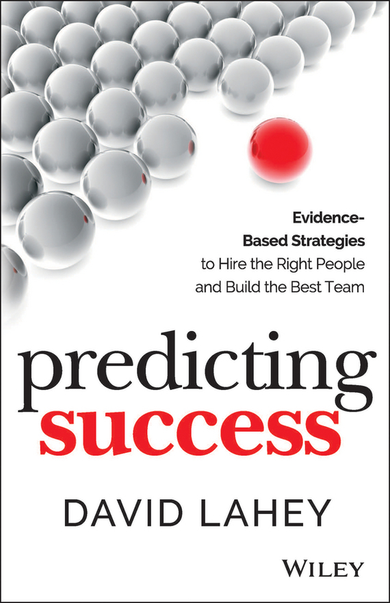 David Lahey Predicting Success database modeling and design