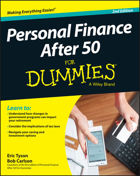 Eric Tyson Personal Finance After 50 For Dummies tony martin personal finance for canadians for dummies