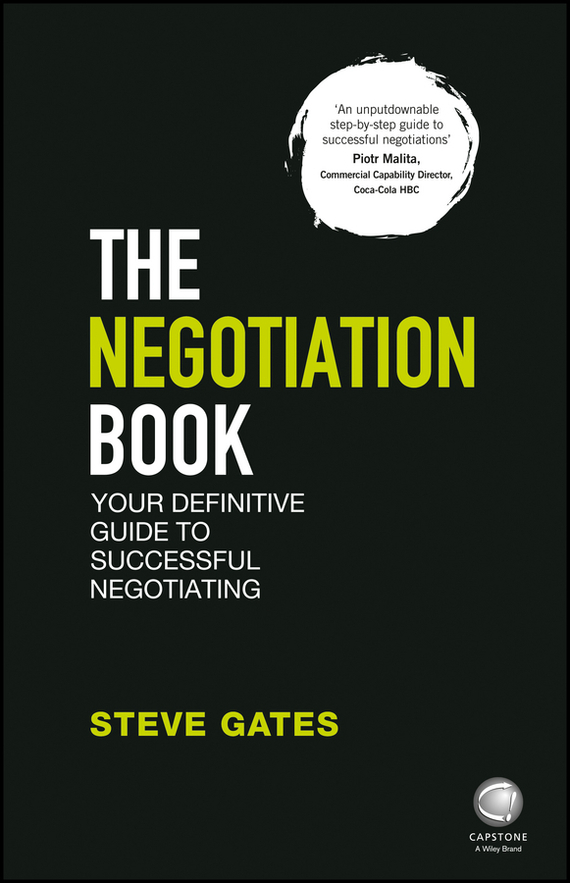 Steve Gates The Negotiation Book the maritime engineering reference book