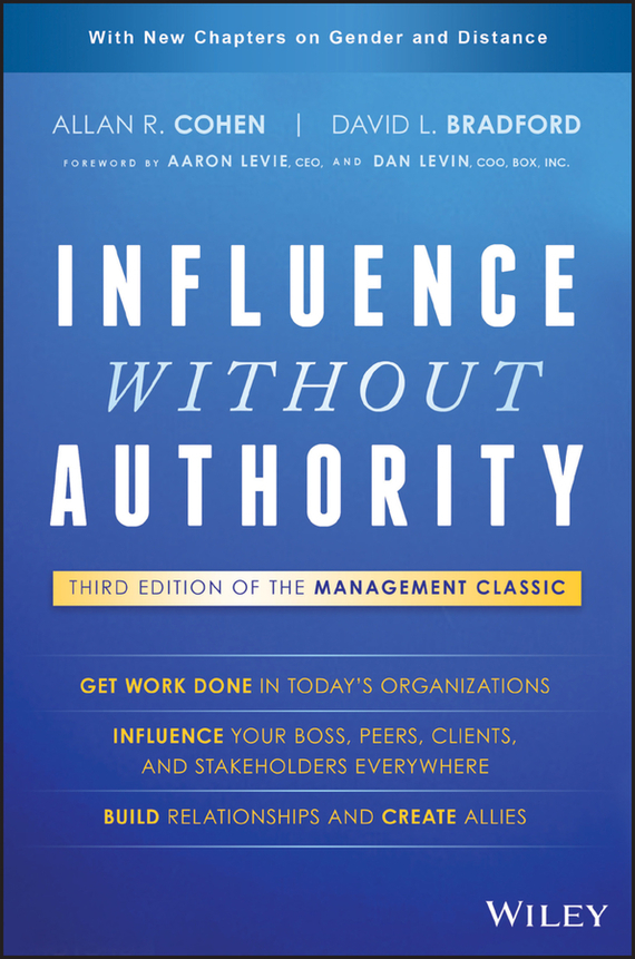 Allan R. Cohen Influence Without Authority
