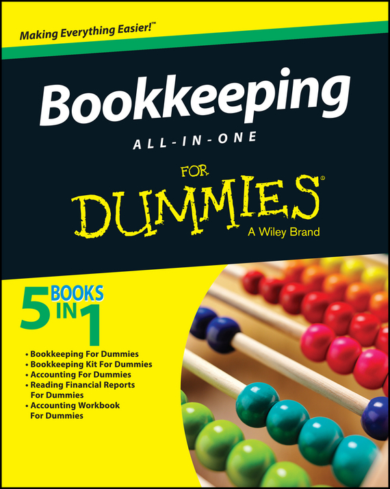 Consumer Dummies Bookkeeping All-In-One For Dummies