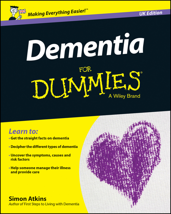Atkins Simon Dementia For Dummies – UK complete first workbook without answers cd
