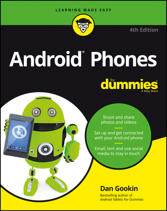 Dan Gookin Android Phones For Dummies ISBN: 9781119310716 landlord s legal kit for dummies