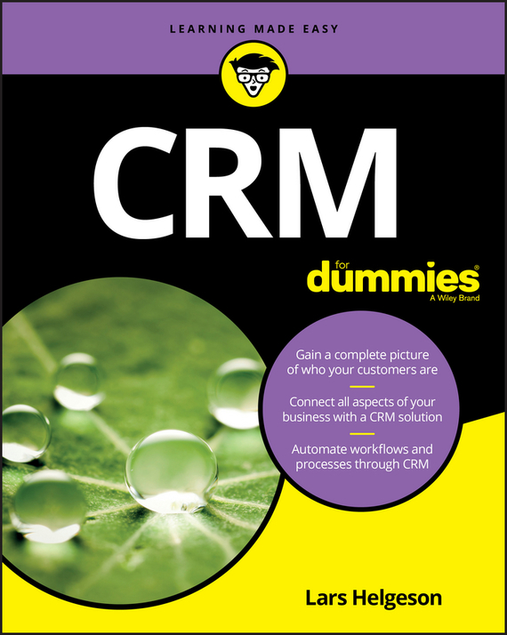 Lars Helgeson CRM For Dummies ISBN: 9781119368984 carol rinzler ann controlling cholesterol for dummies isbn 9780470395387