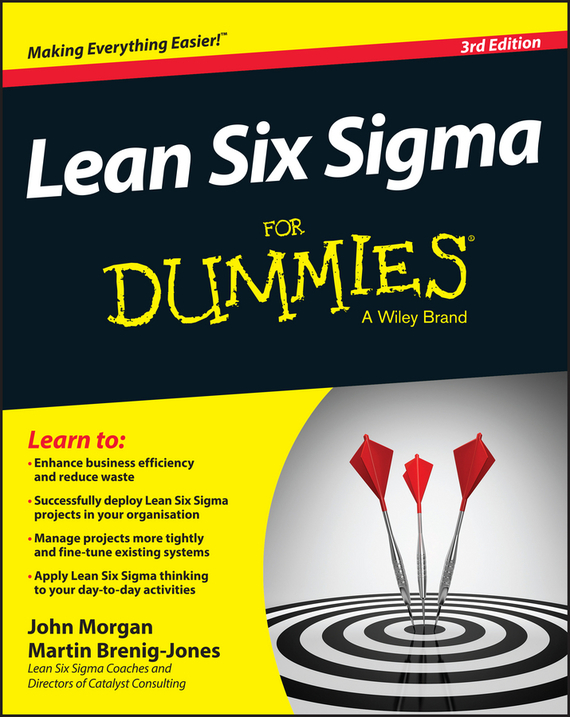 Martin Brenig-Jones Lean Six Sigma For Dummies tony martin personal finance for canadians for dummies