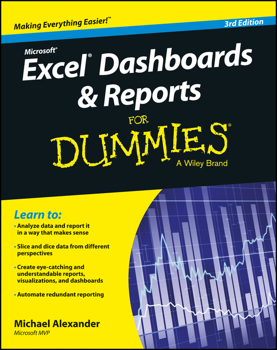 Michael Alexander Excel Dashboards and Reports for Dummies коврик напольное покрытие roland tdm 20 v drum mat gr