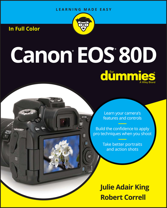 Julie Adair King Canon EOS 80D For Dummies king julie adair canon eos rebel t7i 800d for dummies