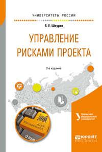 Валентина Евгеньевна Шкурко - Управление рисками проекта 2-е изд. Учебное пособие для вузов