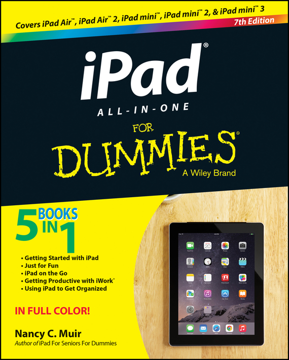 Nancy C. Muir iPad All-in-One For Dummies dwight spivey ipad for seniors for dummies