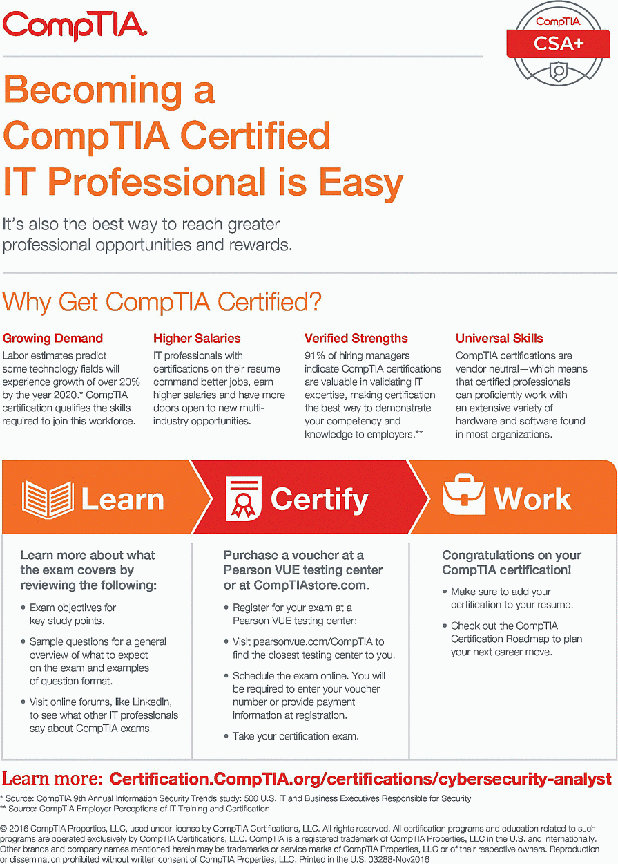 Comptia csa study guide mike chapple technology and a masters degree in information security from eastern michigan university as well as cissp gpen and gcih certifications xflitez Choice Image