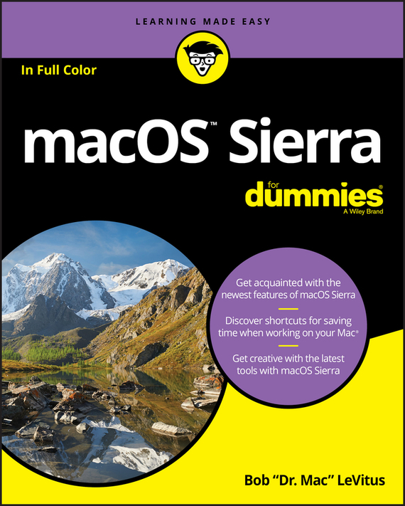 Bob LeVitus macOS Sierra For Dummies photoshop®5 for macs® for dummies®