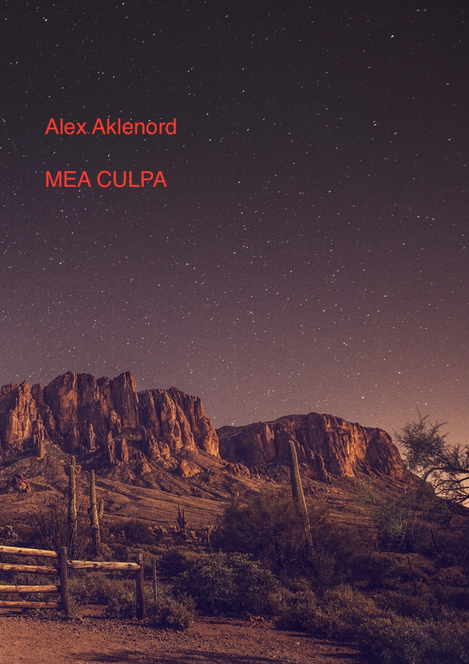 Alex Aklenord. Mea culpa
