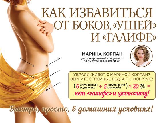 Марина Корпан Как избавиться от боков, «ушей» и «галифе»