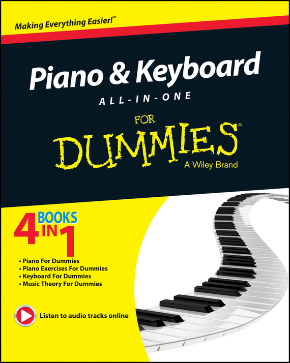 Michael Pilhofer Piano and Keyboard All-in-One For Dummies