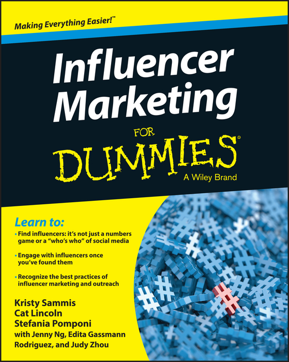 Jenny Ng Influencer Marketing For Dummies mark jeffery data driven marketing the 15 metrics everyone in marketing should know
