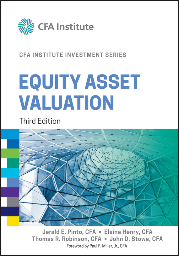 Elaine  Henry Equity Asset Valuation henry elaine international financial statement analysis workbook