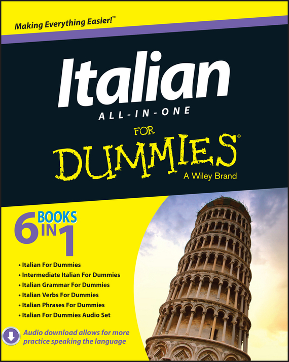 цена на Daniela Gobetti Italian All-in-One For Dummies