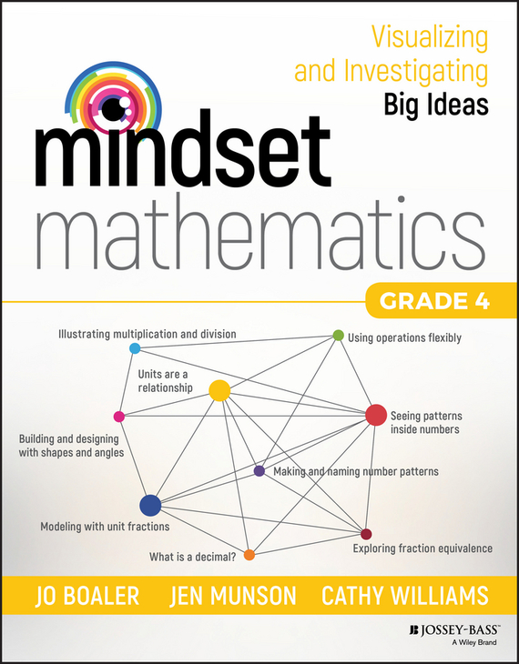 Jo Boaler Mindset Mathematics. Visualizing and Investigating Big Ideas, Grade 4 learning mathematics from comparing multiple examples